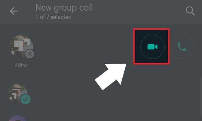 Cara Video Call Whatsapp Lebih Dari 4 Orang - 3
