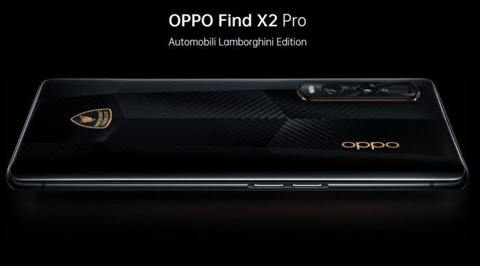 Find X2 Pro Lamborghini Back