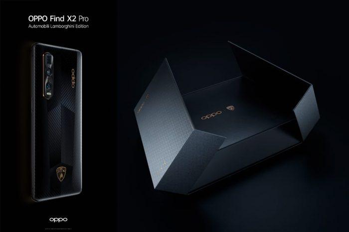 Find X2 Pro Lamborghini Boxs
