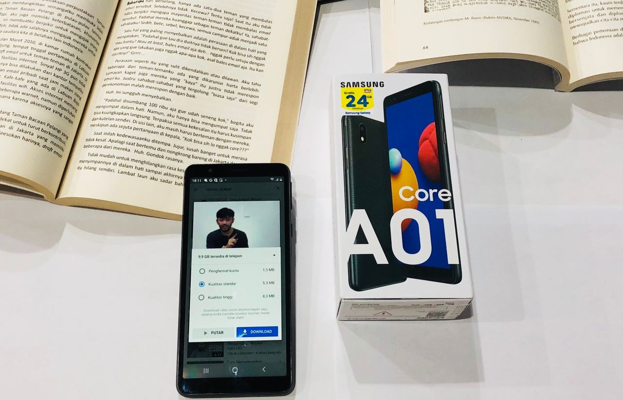 Samsung Galaxy A01 Core Vs Galaxy A01  Header