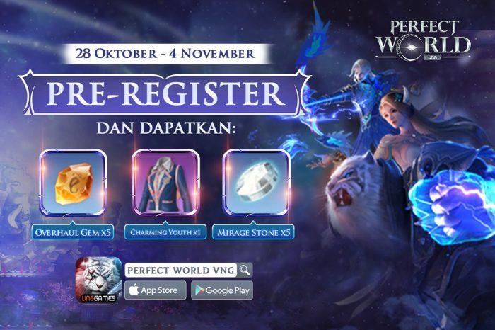 Hadiah Pra Register Perfect World Mobile