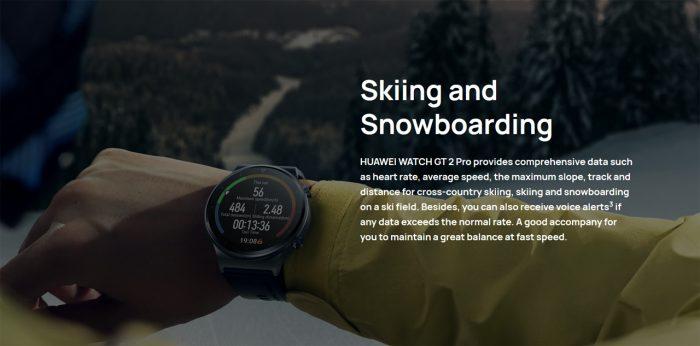Huawei Watch GT 2 Pro Ski