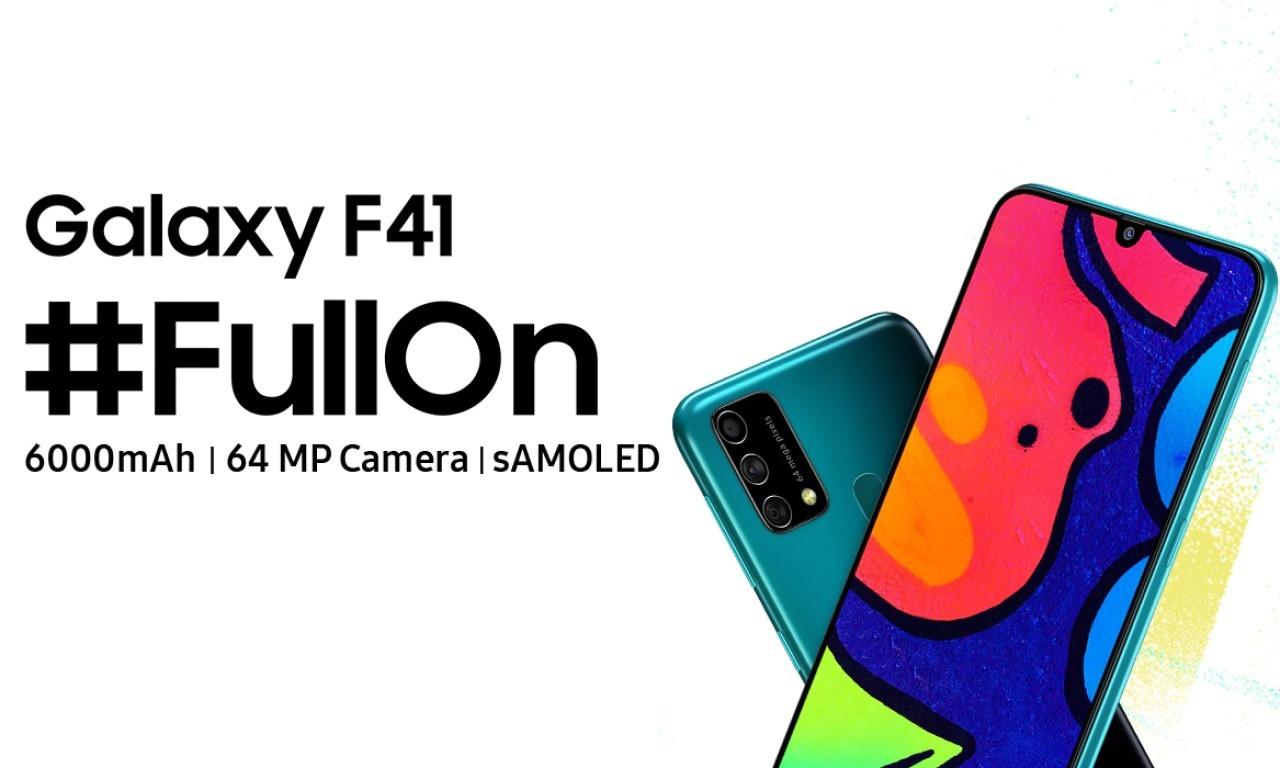 Kelebihan dan Kekurangan Samsung Galaxy F41 Header