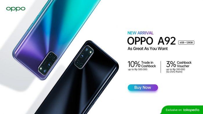 OPPO A92 Promo New