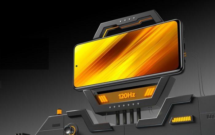 POCO X3 NFC Layar