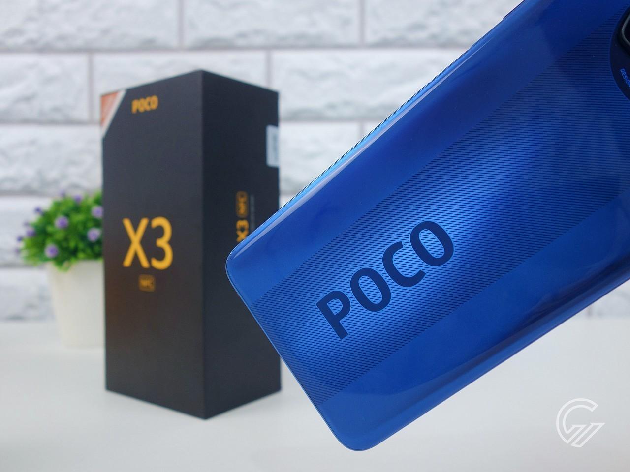 POCO X3 NFC Logo