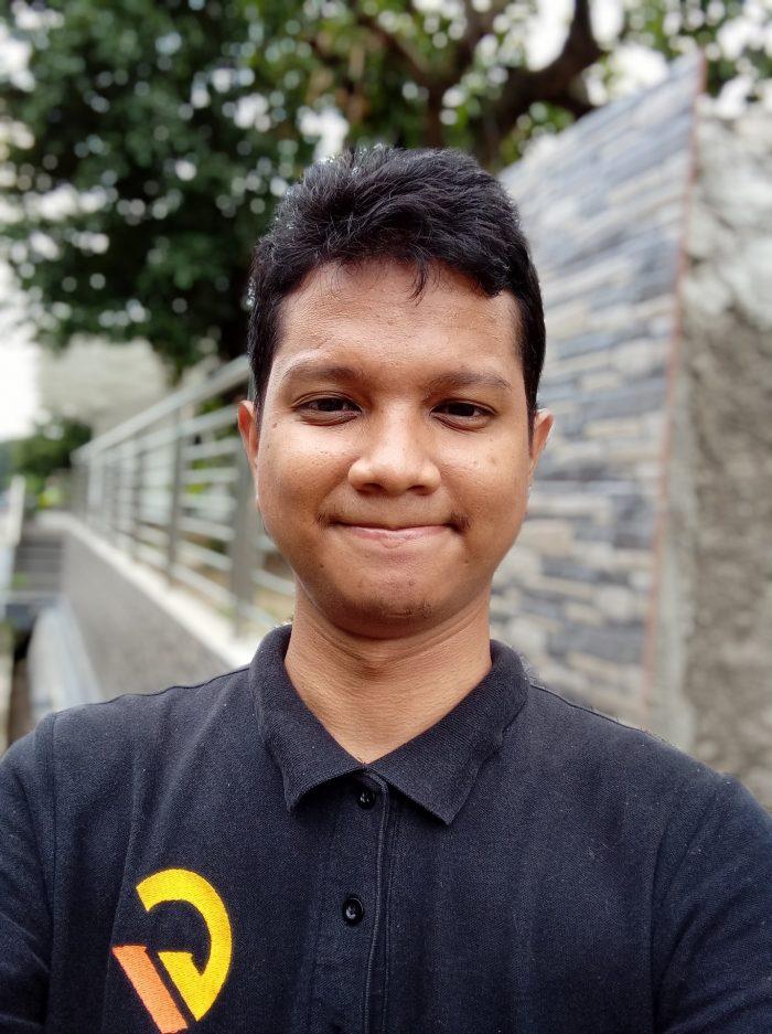 Redmi 9C Kamera Depan Portrait