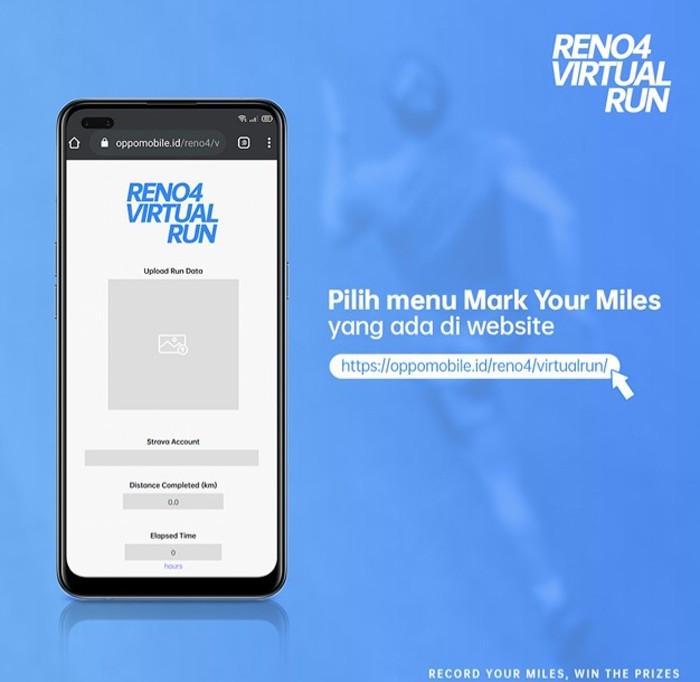 Reno4 Virtual Run site