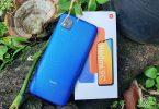 Review Redmi 9C Boks dan Belakang