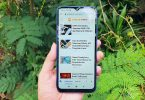 Review Redmi 9C Layar