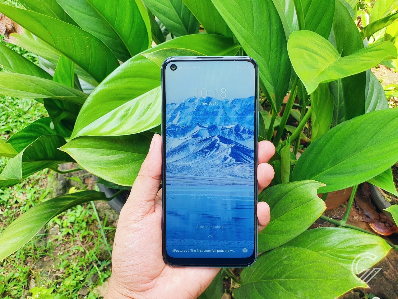 Cara Screenshot realme C17 Header