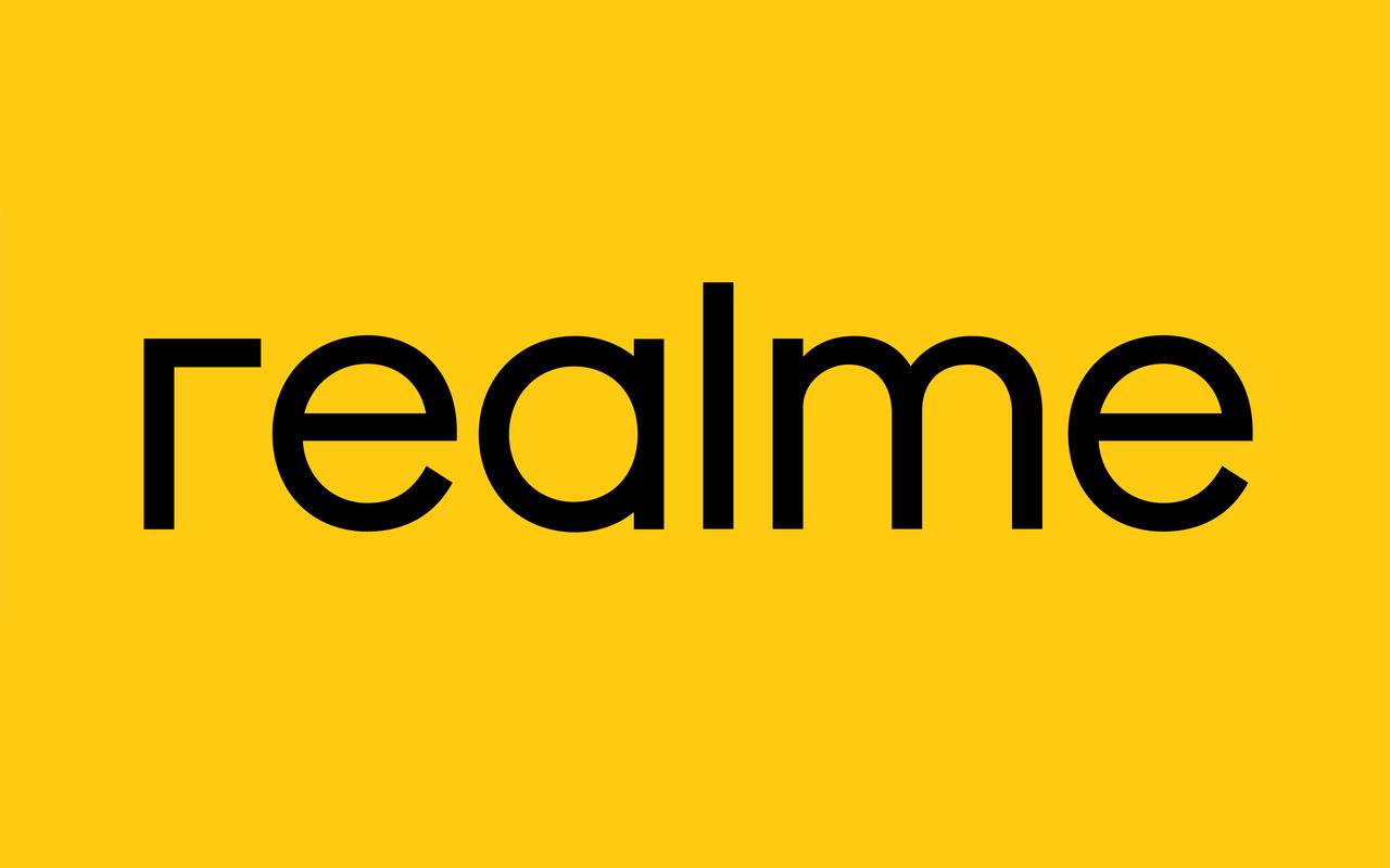 realme Logo Baru 2020 Kuning