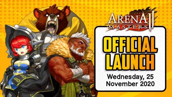 Arena master 2 Feature Launch