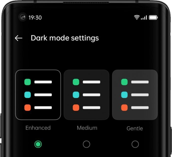 Dark Mode ColorOS 11 Fix