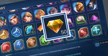 Diamond Kuning Mobile Legends Header