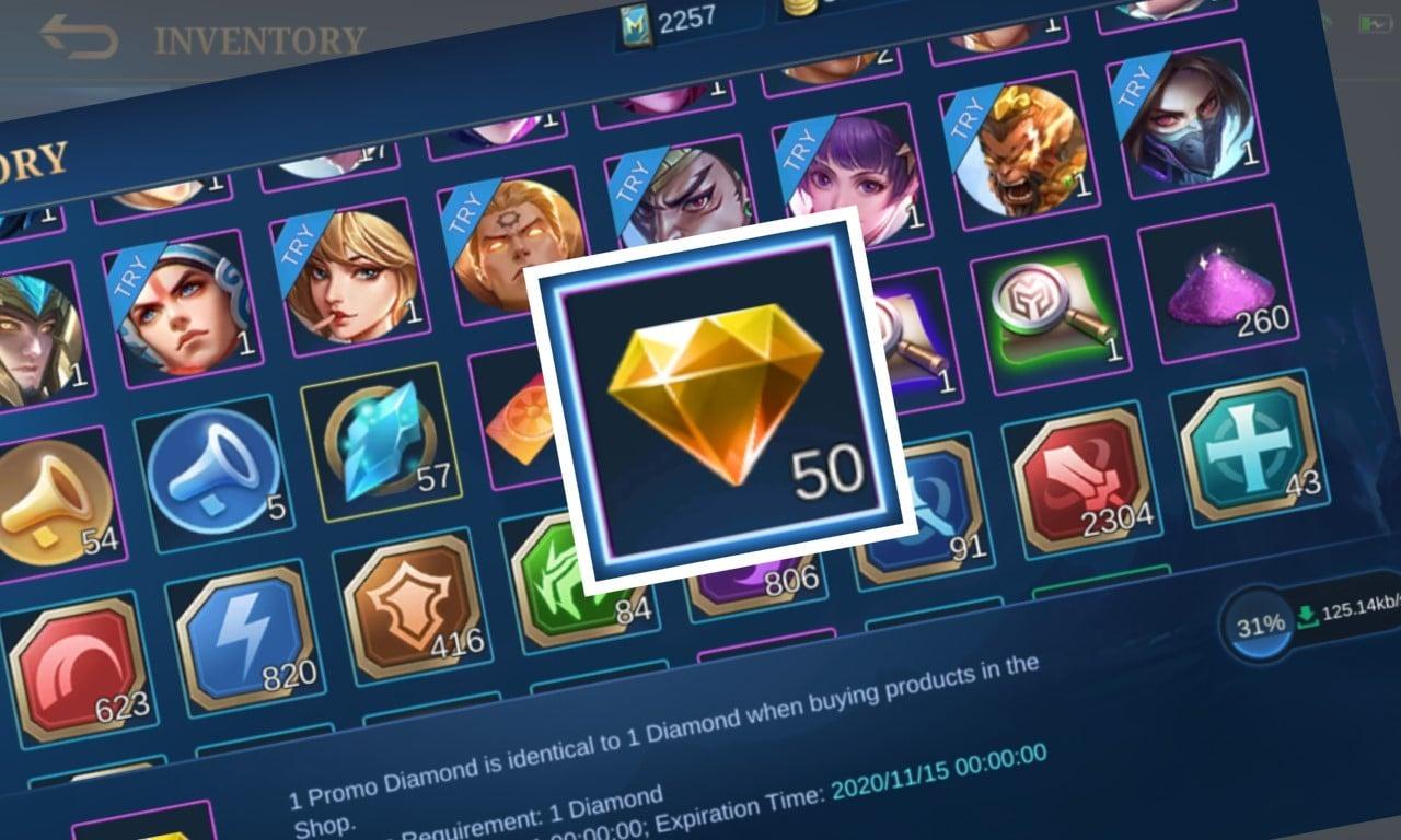 Hasil gambar untuk endapatkan item eksklusif mobile legends