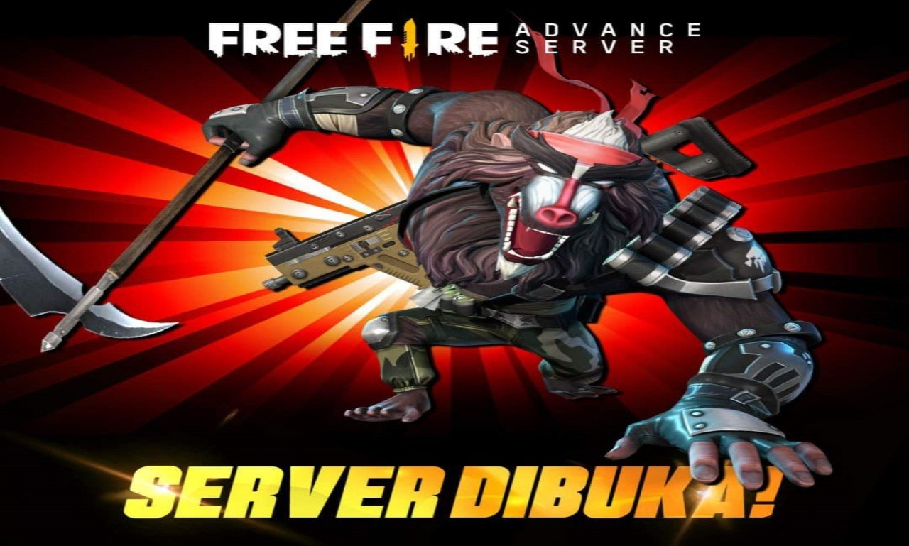 Free Fire Advanced Server 3000 Diamond Header