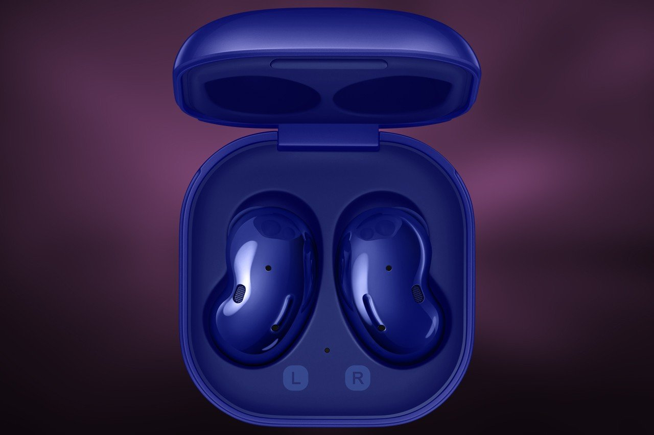 Galaxy Buds Live From Top