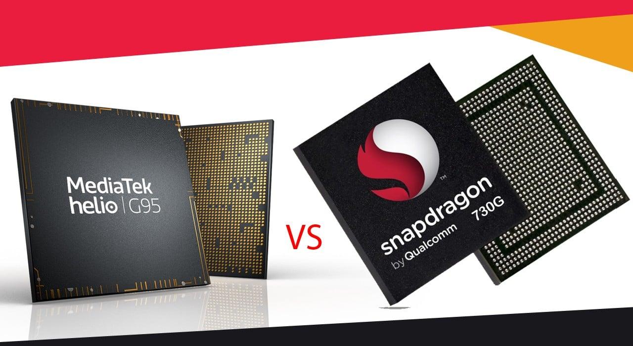MediaTek Helio G95 Vs Snapdragon 730G Header