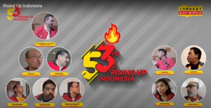 Indosat-Ooredoo-53rd-Rising-Up-Indonesia