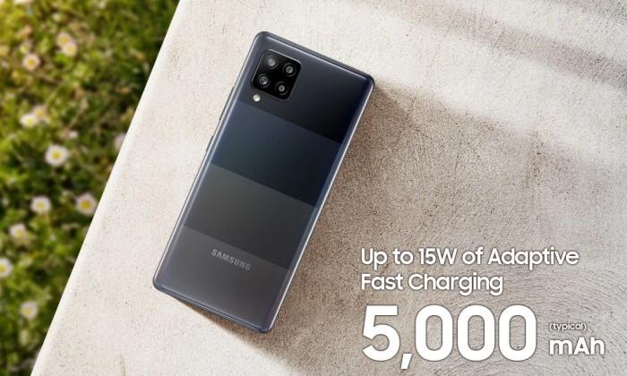 Pro dan Kontra Samsung Galaxy A42 - Baterai