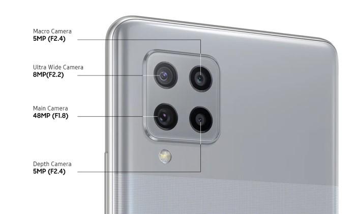 Pro dan Kontra Samsung Galaxy A42 - Kamera