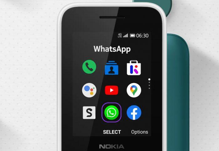 Nokia 6300 4G Front