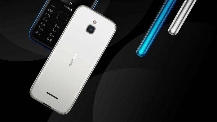 Nokia 8000 4G Back