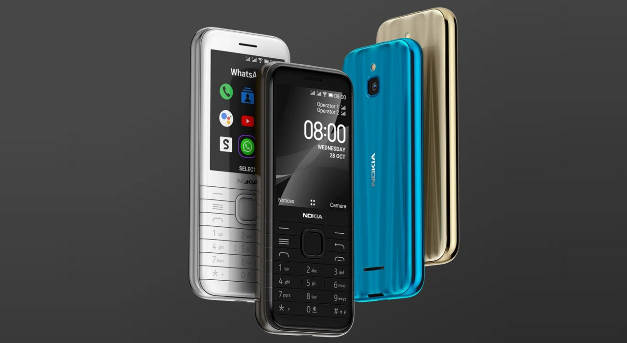 Nokia 8000 4G Feature