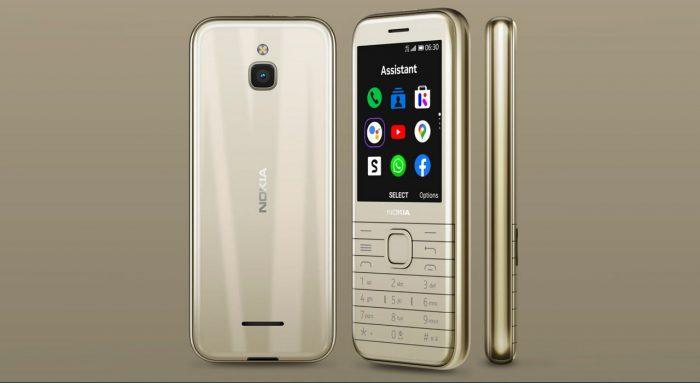 Nokia 8000 4G Gold