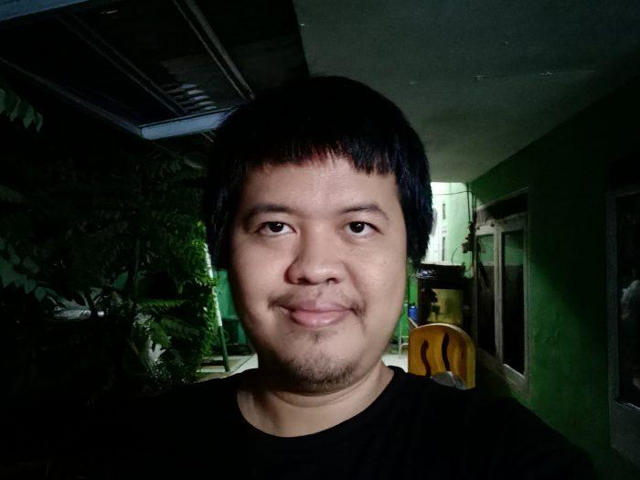 OPPO-A33-Selfie Malam.