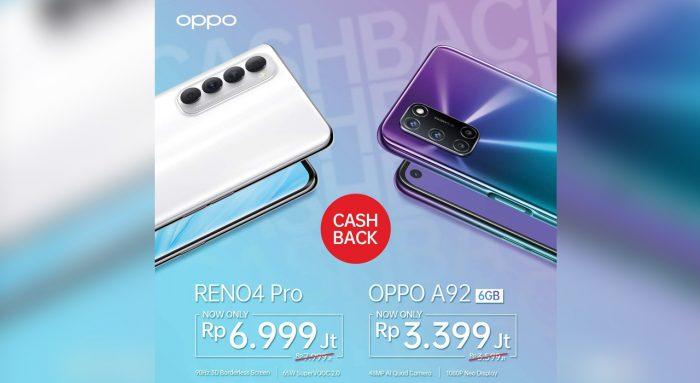 OPPO Reno4 Pro Turun Rp 1 juta