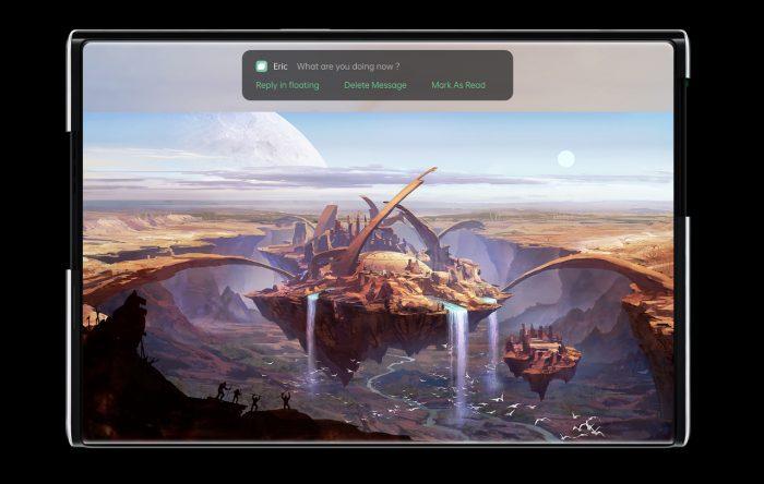 OPPO X 2021 Tablet Mode