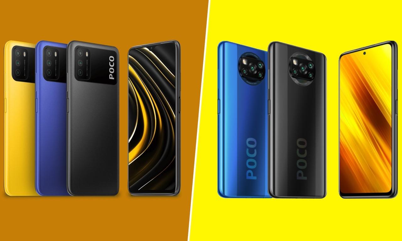 POCO M3 Vs POCO X3 NFC Header
