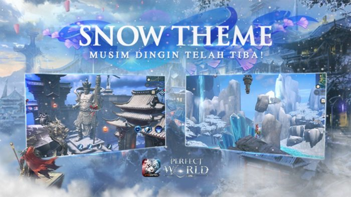 Tema Perfrect World Mobile Snow
