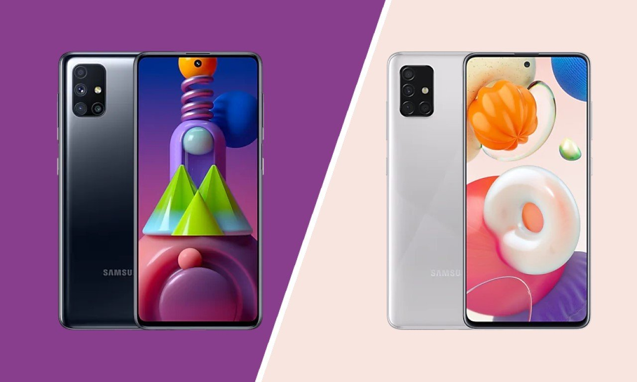 Header Samsung Galaxy M51 Vs Galaxy A51