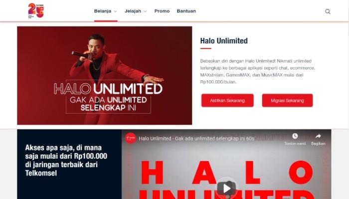 Situs-Telksomsel-Halo-Unlimited