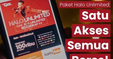 Telkomsel Rilis Halo Unlimited Mulai Rp 100 Ribu, Ini Dia Cara Mengaktifkannya