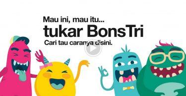Tri Indonesia BonsTri Featurez