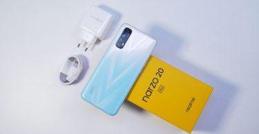 realme Narzo 20 Pro Box