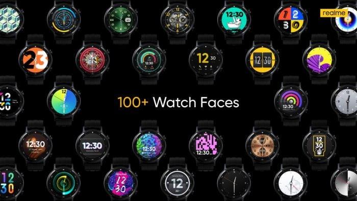 realme Watch S Face