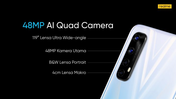 realme narzo 20 Pro Quad Cam