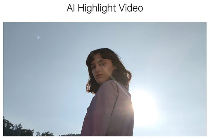 AI Highlight Video Reno5