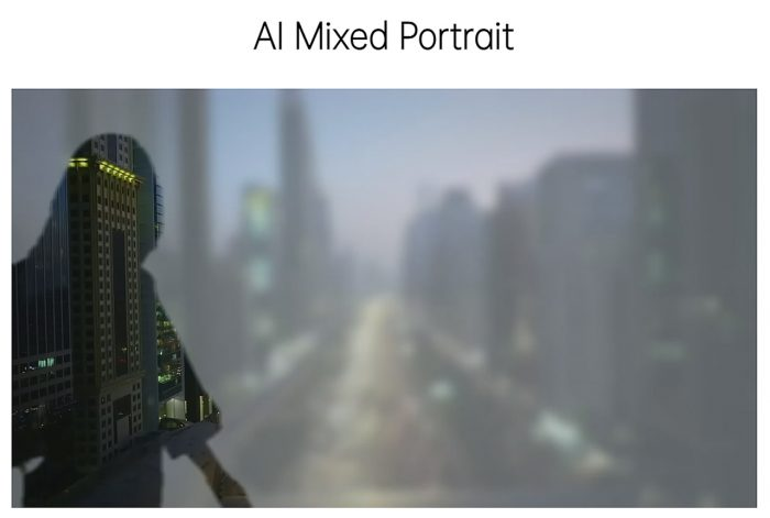 AI Mixed Portrait Reno5