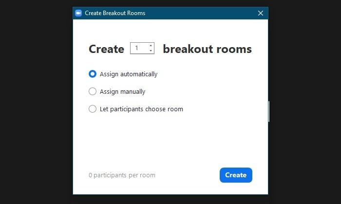 Breakout Rooms Zoom Adalah - Buat 2