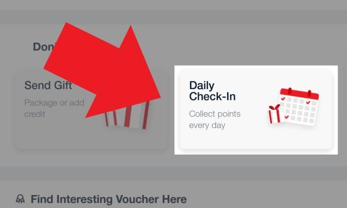 Daily Check In Telkomsel Utama