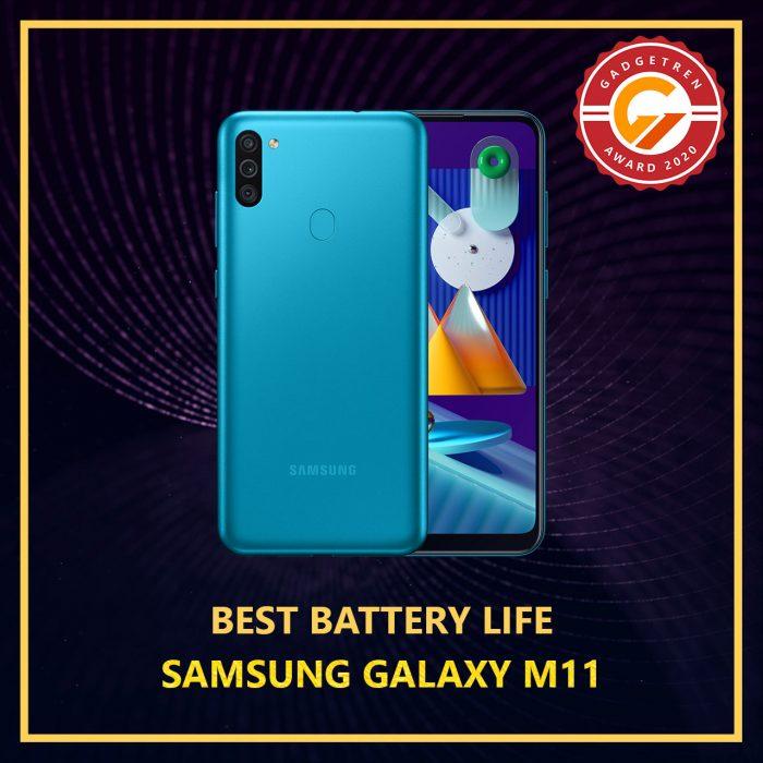 Gadgetren Award - Best Battery Life 2020