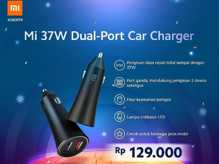Mi-37W-Dual-Port-Car-Charger