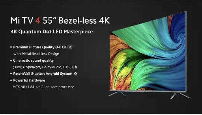 Mi-TV-4-55-inci-Bezel-less-4K-fitur-fitur