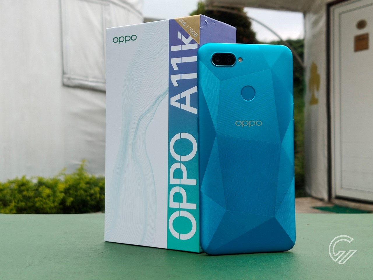 Review OPPO A11k Header